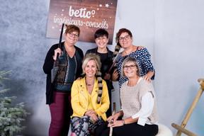 Nadine Marechal, Sophie Colling, Céline Guebels, Martine Christnach et Virginie Blaise ((Photo: Marie De Decker))