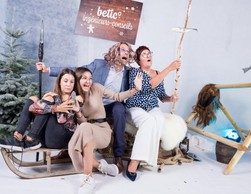 Gilles Christnach (Betic Ingénieurs-Conseils), Martine Christnach, Nora Christnach et  Ayleen Christnach ((Photo: Marie De Decker))