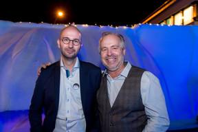 David Determe (Betic Ingénieurs-Conseils) et Philippe Zimmer (CLE) ((Photo: Marie De Decker))