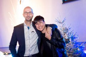 David Determe (Betic Ingénieurs-Conseils) et Céline Guebels ((Photo: Marie De Decker))