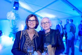 À gauche, Dina Martins (Mobilier jardin) ((Photo: Marie De Decker))