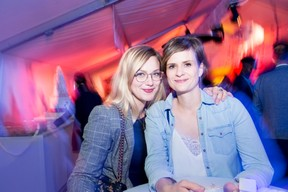 Rose Hélène Simon (Beng Architectes) et Marie François (Youdee) ((Photo: Marie De Decker))