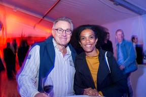 Guy Weis (Secolux) et Sala Makumbundu (Christian Bauer Associés) ((Photo: Marie De Decker))