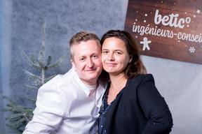 Denis Lecanu (Betic Ingénieurs-Conseils) et Natalie Gerhardstein (Maison Moderne) ((Photo: Marie De Decker))