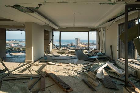 La coalition ad hoc montée à partir de l'idée d'un entrepreneur luxembourgeois a pris des milliers de photographies pour étudier chaque impact des deux explosions d'août à Beyrouth et mesurer l'étendue des dégâts. (Photo: Shutterstock)