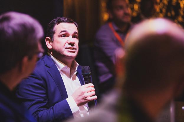 Pour PascalMorosini, CEO d'i-Hub, la mutualisation permet de faire face à des coûts réglementaires qui s'accumulent. (Photo : archives / Maison Moderne)