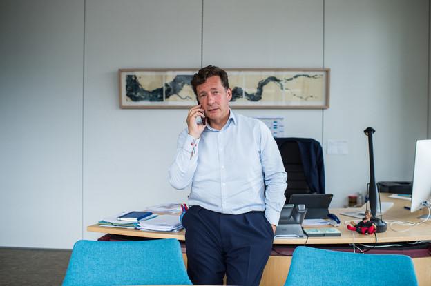 En tant qu'«ambassadeur» de la place financière, NicolasMackel voit d'un œil favorable l'arrivée de JoeBiden à la Maison-Blanche. (Photo: Mike Zenari/archives)