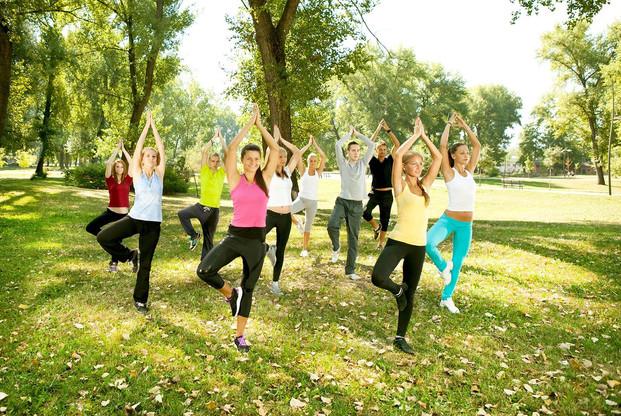 Divers ateliers comme des cours de yoga, de qi gong, d'auto-défense ou encore des séances de relaxation dans les jardins, sont proposés aux employés de PwC. (Photo :MONDORF Domaine Thermal)