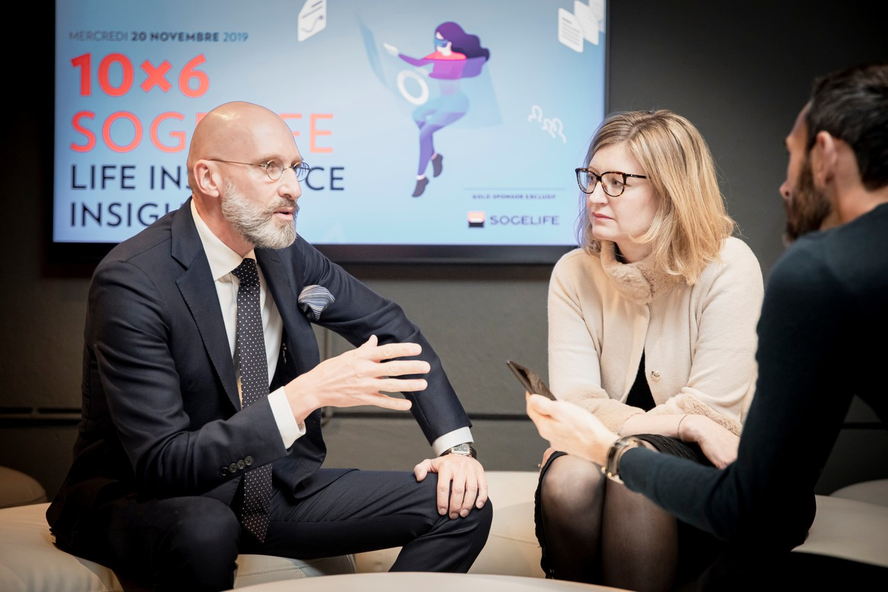 Bertrand Christmann et Karen Ruphy. (Photo: Jan Hanrion / Maison Moderne Publishing SA)