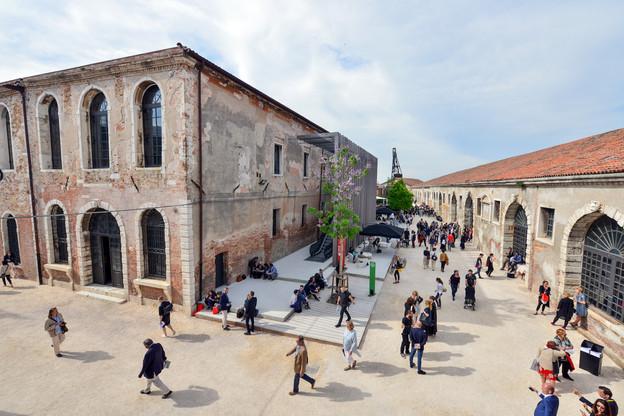 Les allées de l'Arsenale resteront vides cette année, puisque la Biennale d'architecture est reportée en 2021. (Photo: Andrea Avezzu/Biennale de Venise)
