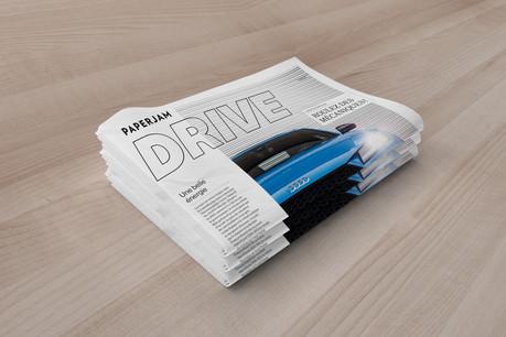 Paperjam Drive,nouveau supplément concocté par la rédaction, est disponible dès ce vendredi 24 janvier. (Photo: Maison Moderne)