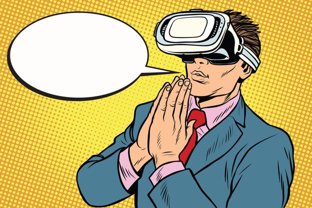 Le casque de réalité virtuelle a fait son apparition aux États-Unis tandis que cette solution ne fait pas l'unanimité au sein des grandes religions. (Photo: Shutterstock)