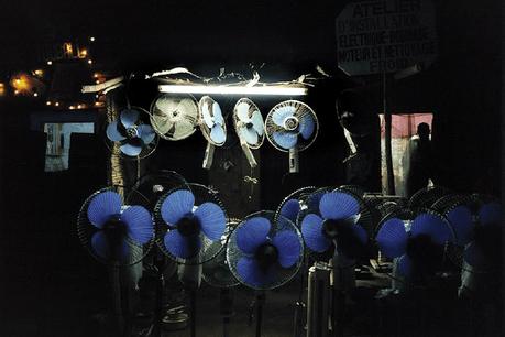 White Night, Niamey, Niger 2000.  Exposition à la Cité de l'image de Clervaux. (Photo; Gilles Coulon)