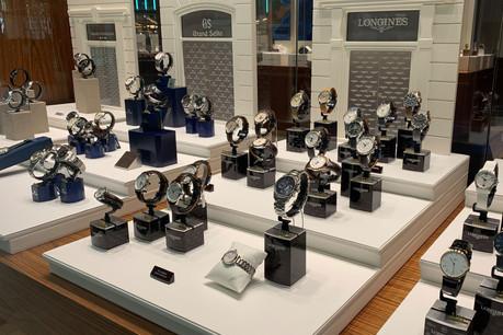 L'enseigne Les Ambassadeurs distribue une trentaine de marques de montres différentes. (Photo: Paperjam)