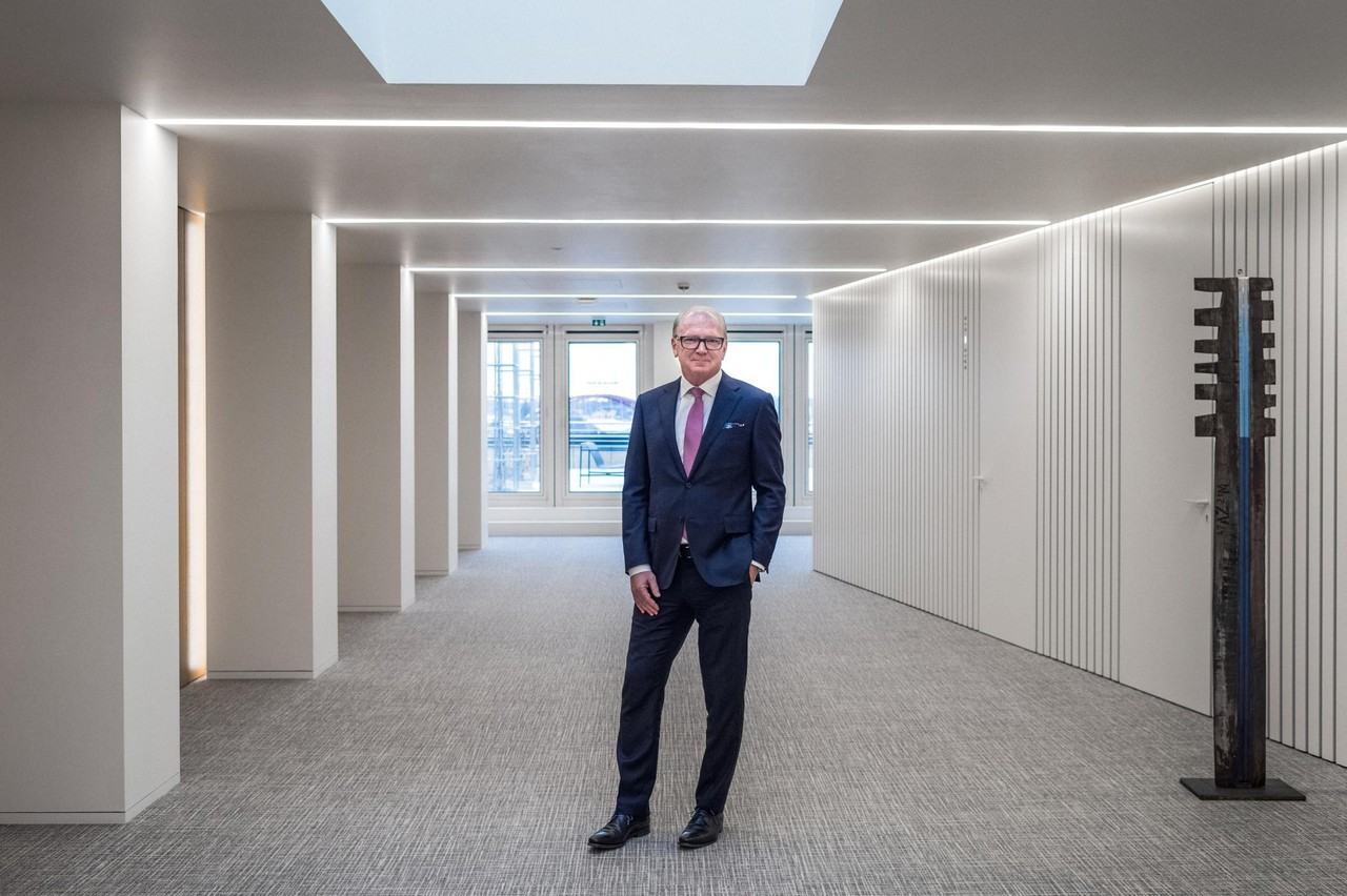 Marcel Leyers, CEO de la BIL, se félicite que la banque ait concrètement fait partie de la solution à la crise sanitaire. (Photo: Mike Zenari/Maison Moderne/archives)