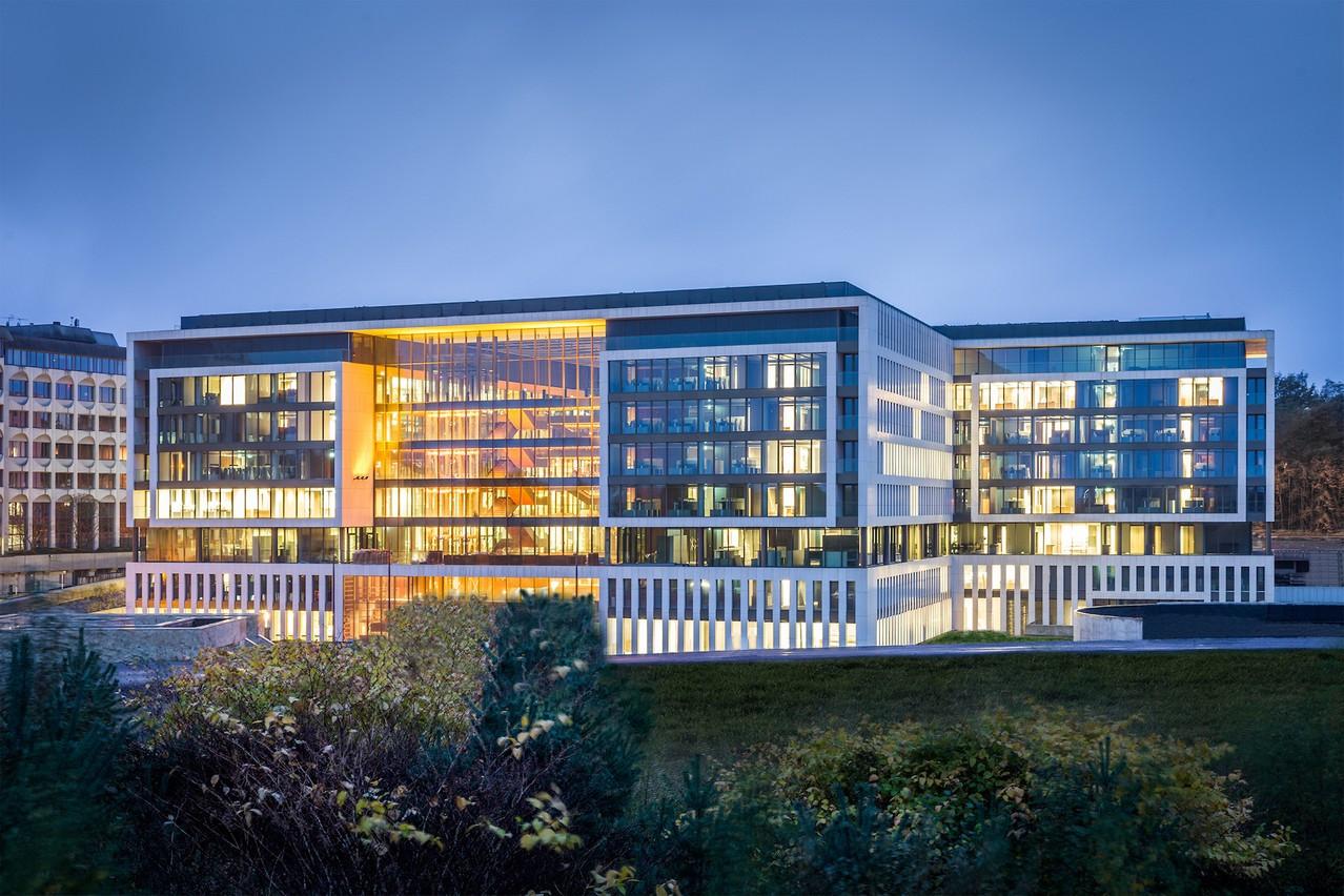 Le siège de Ferrero International fait partie des réalisations de Besix Red pour cette année 2019. (Photo:Utku Pekli)