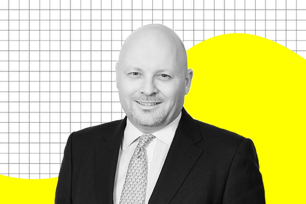 Mark Burgess, chief investment officer, EMOA chez Columbia Threadneedle Investments. (Photo: Maison Moderne)