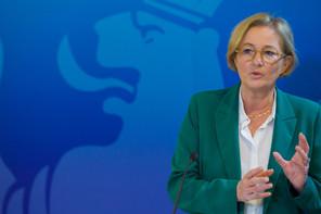 Paulette Lenert, ministre de la Protection des consommateurs, ministre de la Santé, ministre déléguée à la Sécurité sociale © SIP / Jean-Christophe Verhaegen