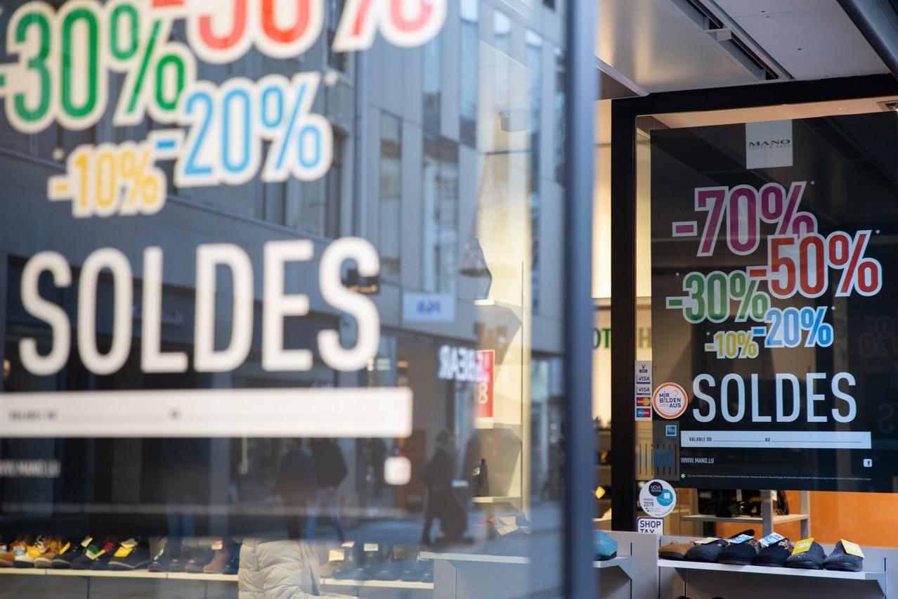 Les soldes semblent aujourd'hui concurrencés par de nombreuses actions promotionnelles ponctuelles, qui ont lieu toute l'année. (Photo: Romain Gamba/Maison Moderne)