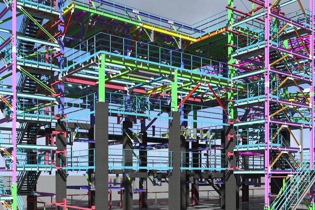 La modélisation numérique permet de tout savoir d'un bâtiment. Utile au moment où l'Europe s'apprête à lancer une plateforme d'achat et de vente de matériaux de déconstruction, un projet auquel est associée BIM-Y. (Photo: Shutterstock)