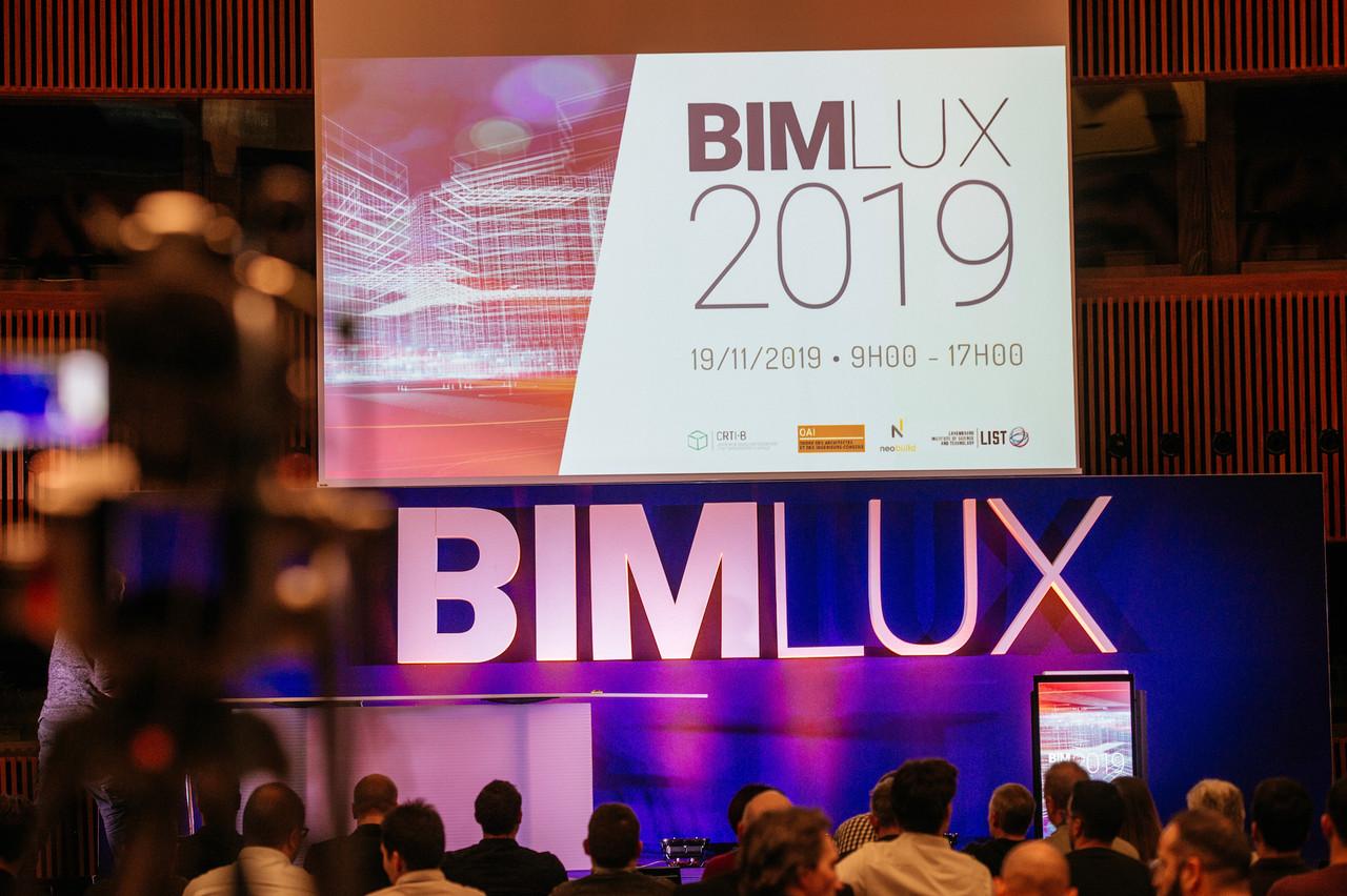 La conférence Bimlux2019 a rassemblé les acteurs de la construction intéressés par cette méthode de travail. (Photo: Marie De Decker)