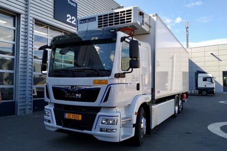 Après avoir testé son nouveau camion électrique pendant quelques années, Biogros envisage de passer ses dix autres véhicules au vert. (Photo: Biogros)