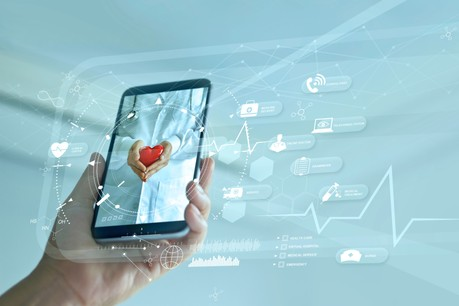 CoVive, application lancée au Luxembourg par BioneXt Lab et développée avec Medicus AI, permet d'accélérer la prise en charge de patients potentiellement infectés et donc de limiter la propagation du virus. (Photo: Shutterstock)