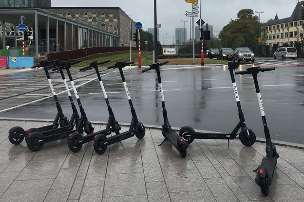 Entre le parking du Glacis et le Grand Théâtre de la Ville de Luxembourg, les trottinettes avaient été enlevées dès la menace de la bourgmestre. (Photo: Paperjam)