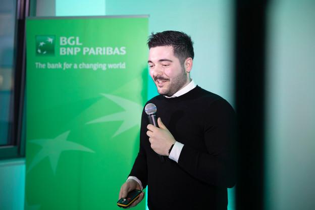Roman Salvi entend lancer Biscuit, une application qui digitalise le catalogue publicitaire de nos boîtes aux lettres. Il n'existait pas de solution de ce genre au Luxembourg. (Photo: SimonVerjus)