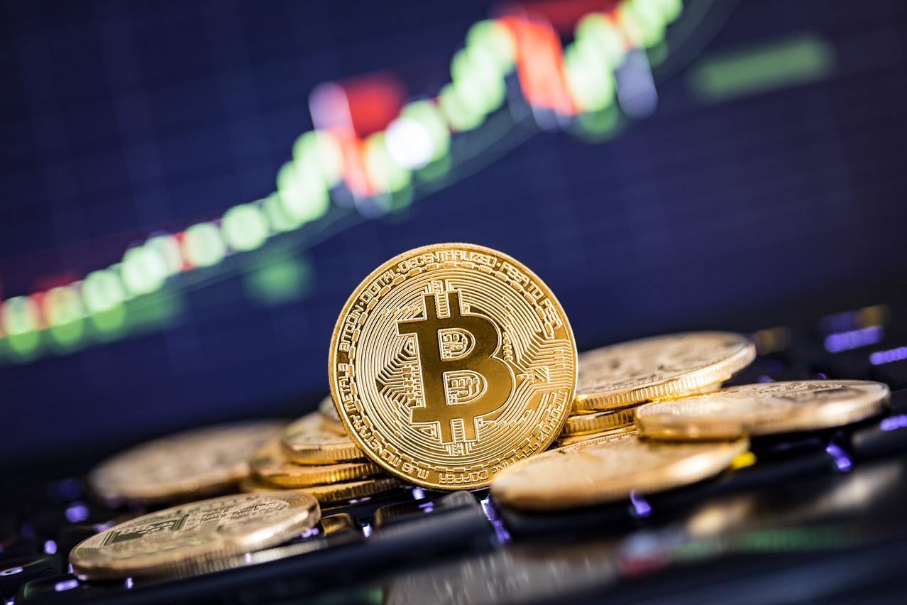 Le bitcoin a atteint une valeur de 50.547,70 dollars. (Photo: Shutterstock)