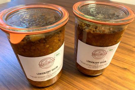 Pour trouver les bocaux gourmands et locaux de Traatschkichen, ça se passe sur les marchés de Luxembourg et de Dudelange, ainsi qu'à Larochette… (Photo: Maison Moderne)
