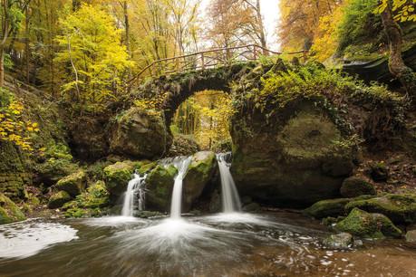 La cascade Schiessentümpel est l'un des incontournables de la région. (Photo:NGPM, Raymond Clement)