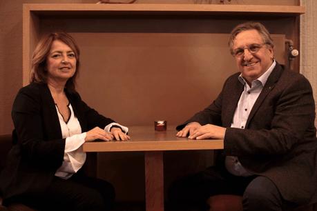 La gestion du temps en entreprise et pour soi. Un défi dans une période de surinformation et de connexion permanente que CarolePerez et ThierryDelperdange thématisent dans leur travail de coach. (Photo: Matic Zorman)