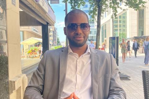 Ibrahim Deme: «L'éloquence, c'est la bonne prestance, ainsi que la compréhension du message véhiculé à travers le discours prononcé.» (Photo: DR)