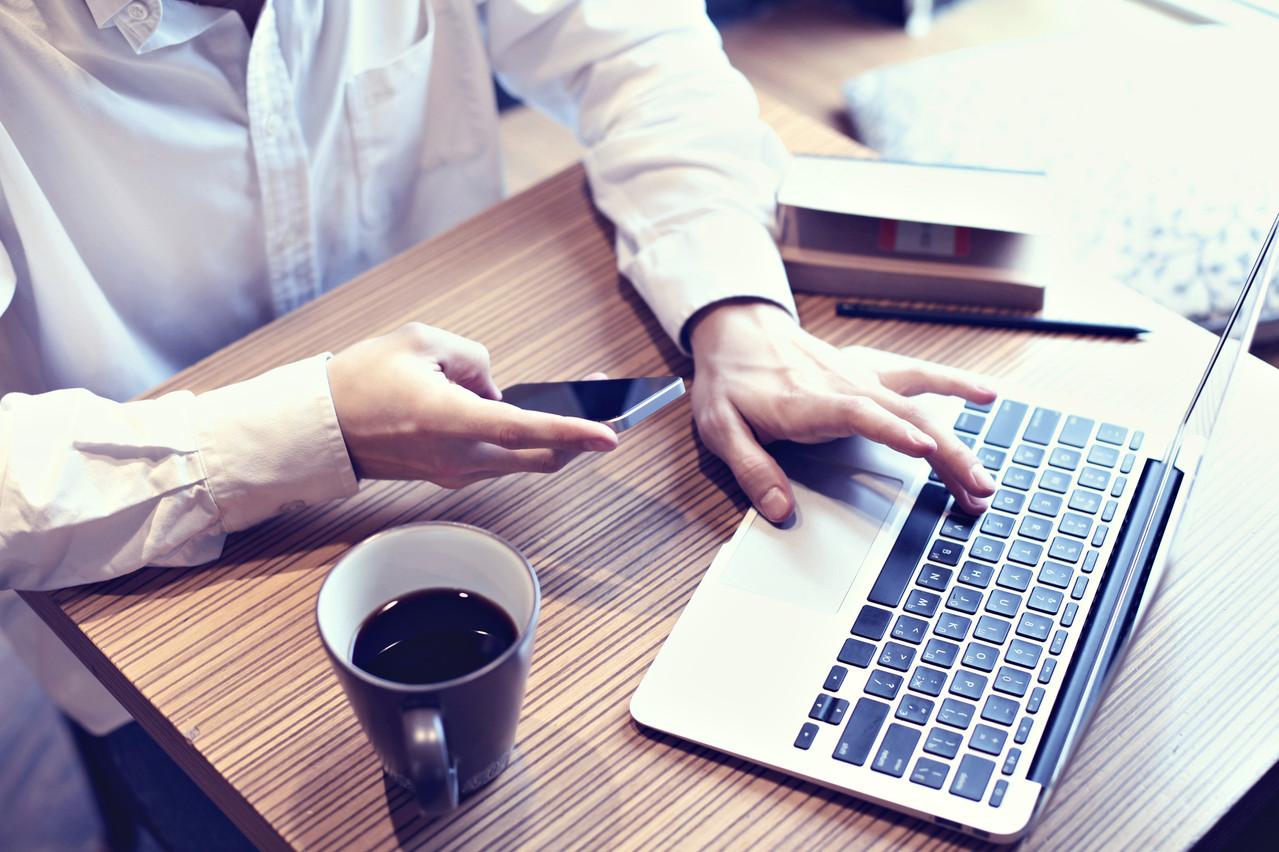 Keytrade BankLuxembourg a multiplié entre cinq et sept fois le nombre de nouveaux clients par rapport à une période normale. (Photo: Shutterstock)