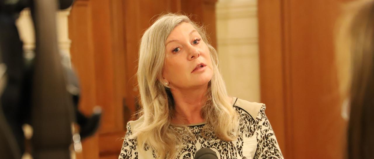Nancy Kemp-Arendt confirme l'essor des pétitions. (Photo: Chambre des députés)