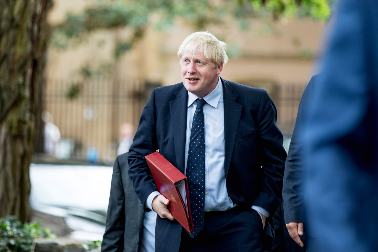 Boris Johnson va tenter un ultime passage en force au Parlement. Mais se trouvera face à une opposition très déterminée. (Photo: Jan Hanrion/Maison Moderne/Archives)