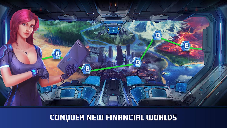 Le jeu offre une première partie didactique pour comprendre les mécanismes financiers derrière ces échanges de monnaies cryptées. (Illustration: Screenshot de Botwars)