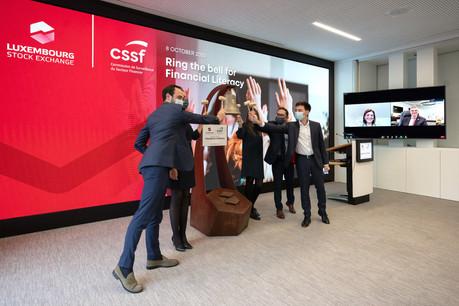 Dans le cadre de cette campagne de sensibilisation, des organisations à travers 90juridictions, dont la CSSF et la Bourse du Luxembourg, se sont associées pour souligner l'importance de l'éducation financière et de la protection des investisseurs. (Photo: Luxembourg Stock Exchange)