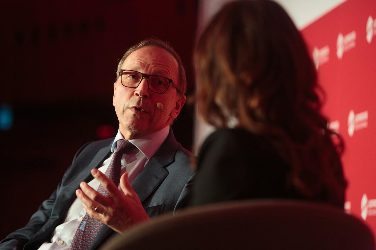 Robert Scharfe, CEO de la Bourse de Luxembourg. (Photo: Matic Zorman / Archives)