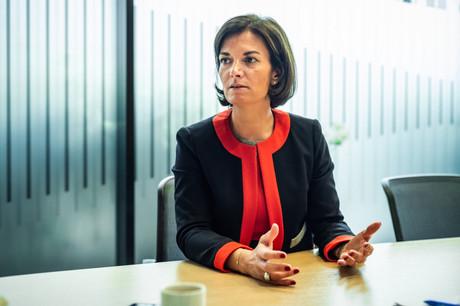 Julie Becker, CEO adjoint de la Bourse de Luxembourg, entend élargir le spectre de la finance durable grâce à la formation. (Photo: Mike Zenari/archives)