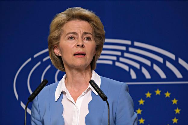 La présidente de la Commission, Ursula von der Leyen, a tenté de rassurer en prévoyant des mesures importantes. (Photo: Shutterstock)