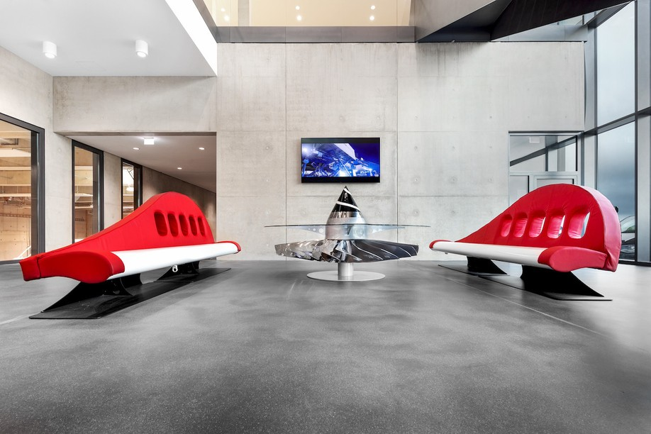 Aero-Design custom made furniture for Cargolux @matdouhaire