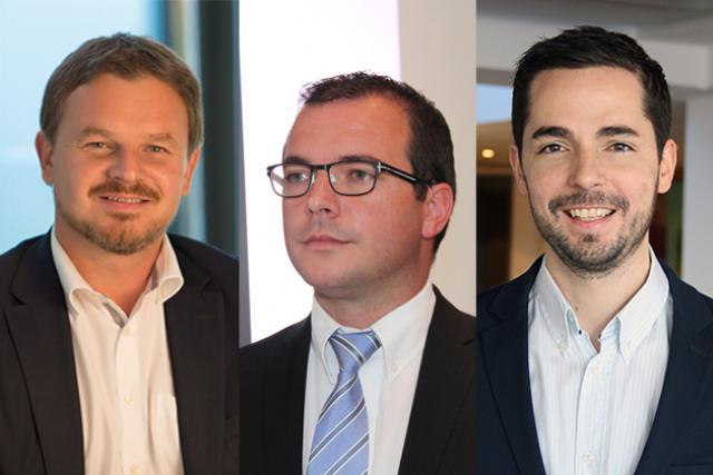 (de gauche à droite) Jean-Philippe Foury, SME Leader Deloitte Private, Kris Fagard, Director Deloitte Private, et Gaetan Van Campenhout, Manager Deloitte Private. Crédit photo: Deloitte Luxembourg
