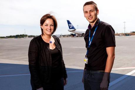 Anne Pasquel, LuxairGroup, Head of Recruitment et Mickaël Rubio, LuxairCARGO, Methods and Process Engineer  jobs.lu