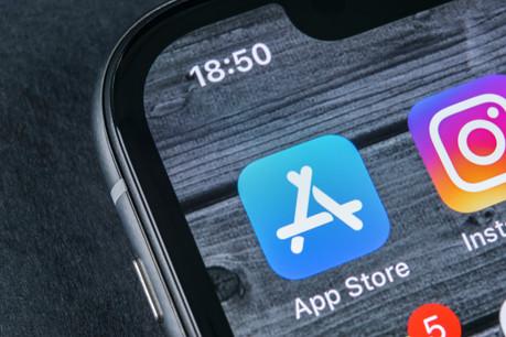 85% des 519milliards de dollars générés l'an dernier par l'App Store sont revenus à des développeurs externes à Apple. Mais cela pose quand même des problèmes à l'Union européenne. (Photo: Shutterstock)