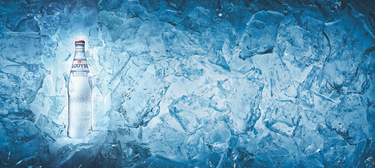 L'argument de l'ère glaciaire sert de fil rouge à l'identité de la gamme Lodyss. (Photo: Brasserie Nationale)