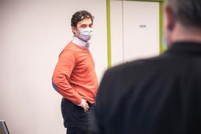 Mehdi Magha (Handicap International) ((Photo: Simon Verjus/Maison Moderne))