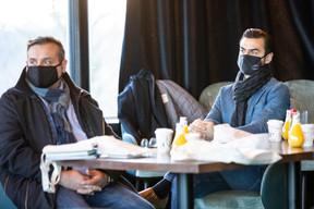 Philippe Brignola (Clean and More) et Steve Moreira (Immeck Ventes) ((Photo: Julian Pierrot / Maison Moderne))