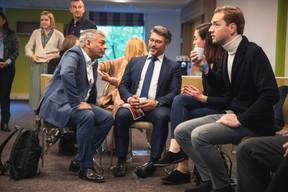 JunaedKabir (Parva Consulting SA) et Luigi Vitelli (Pharus Management Lux) ((Photo: Simon Verjus/Maison Moderne))